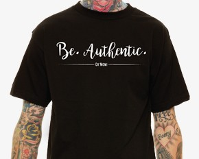 Be.Authentic. Tee
